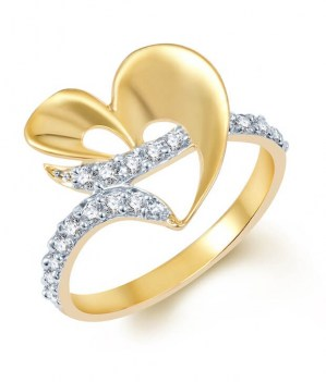 Gold-and-Rhodium-Plated-CZ-Ring