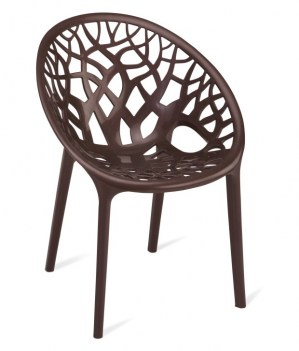 Nilkamal-Vap-Chair-Crystal-Pp-Weather-Brown