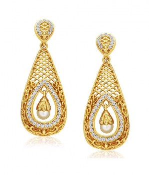 Sukkhi-Golden-Alloy-Earrings