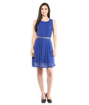 Wills-Lifestyle-Blue-Shift-Dress